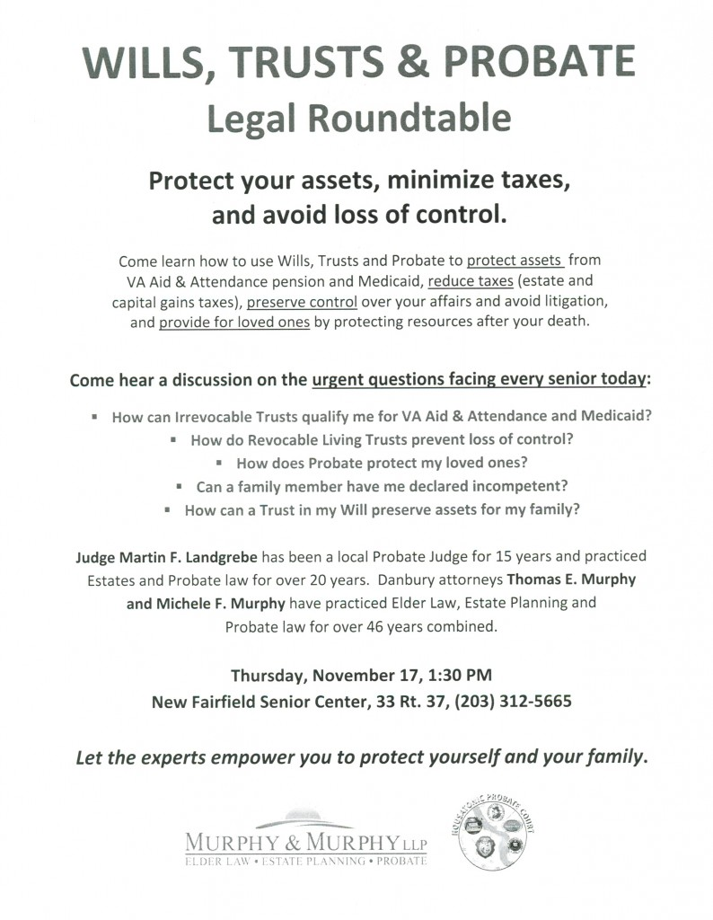 new-fairfield-senior-center-roundtable-wills-trusts-and-probate-announcment-11172016